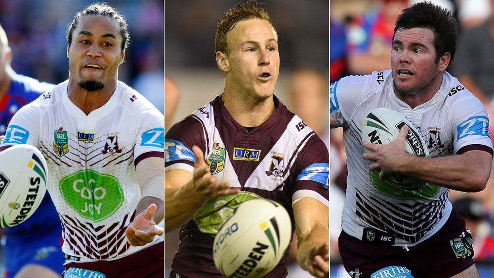 Steve Matai, Daly Cherry-Evans and Jamie Lyon (AAP and Getty)