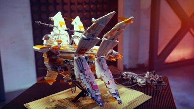Jennifer and Jodie's Star Wars build gets top marks for storytelling