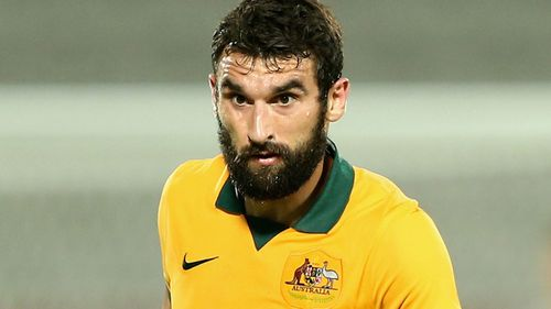 Socceroos skipper Mile Jedinak. (Getty)