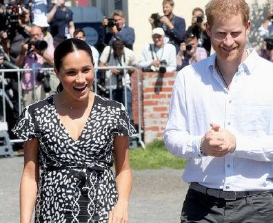 This is the beginning of a 10-day tour of South Africa for the royals.