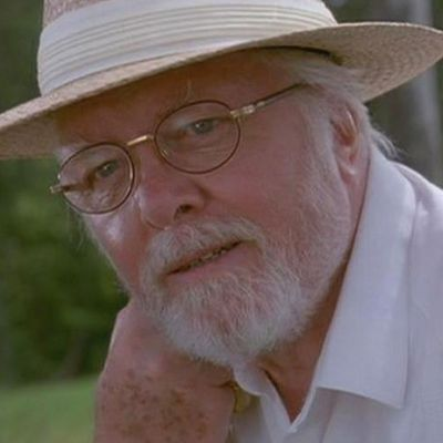 Richard Attenborough as John Hammond: Then