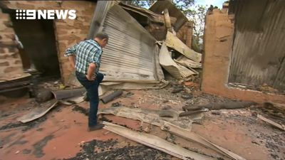 Tathra families see first glimpse of fire-ravaged homes