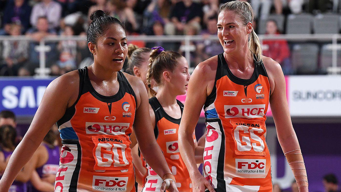 Caitlin Bassett stars as Giants continue Queensland Firebirds' winless streak