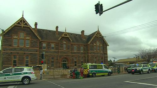 An Adelaide schoolboy is fighting for life in hospital after suffering a fall.