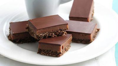 <strong>Triple chocolate slice</strong>