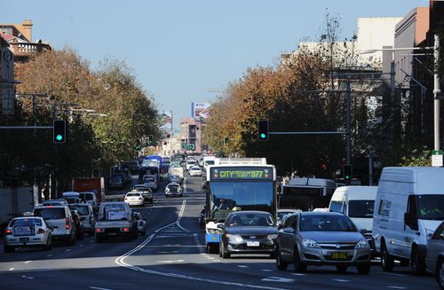 Infrastructure Australia is calling on the Federal Government to look at implementing a 'congestion charge' in major cities. Picture: AAP