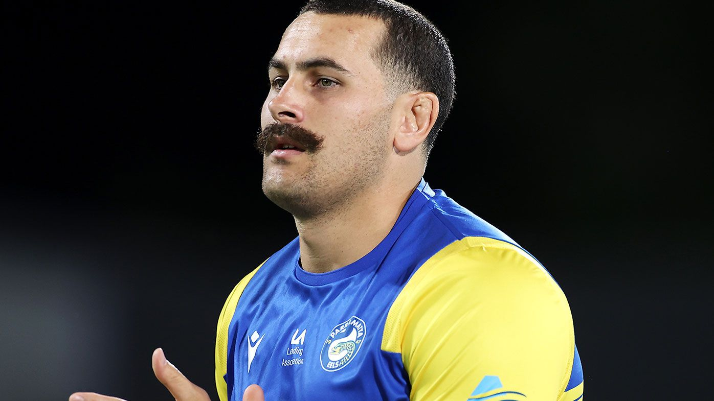 Parramatta's Reagan Campbell-Gillard has been charged by the match review committee.