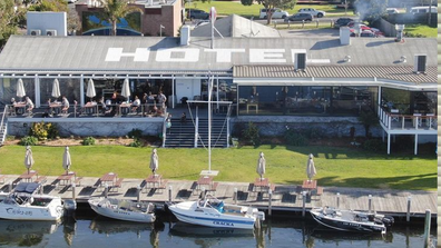 The waterfront pub is a strong advocate for local produce and suppliers.