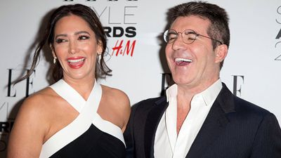 Lauran Silverman and Simon Cowell. (Getty)