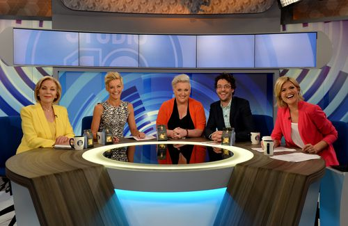 Rowe's co-hosts became emotional on-air when she announced the news. (AAP)