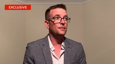 Exclusive: Russell sends doppelganger Premier Dan Andrews a 'get well message'