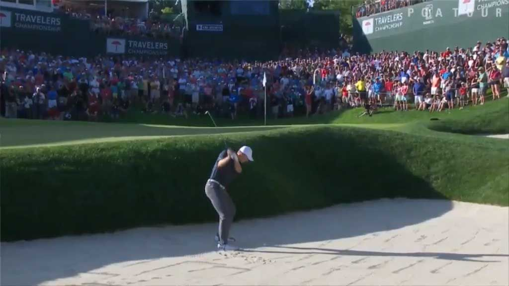 Spieth wins the Travelers Championship