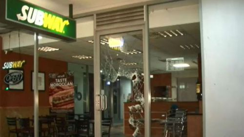 Two men use baseball bats to break into Subway store in Sydney's inner-west