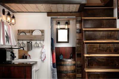 <p><strong>The Barn tiny home</strong></p> <p><strong></strong></p>