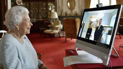 Queen Elizabeth II, who is in residence at Windsor Castle, has held her first ever virtual audience at Buckingham Palace, Friday, December 4, 2020