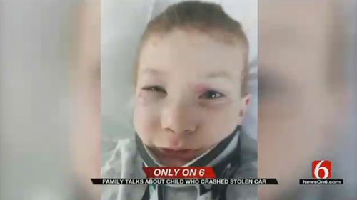 Police said the boy was driving at speeds of more than 160km/h and was not wearing a seatbelt at the time of the crash. (News9)