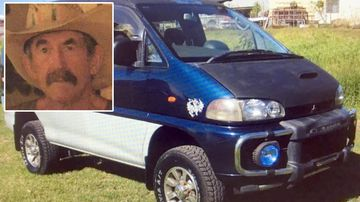 Van may hold key to finding missing Larrimah man