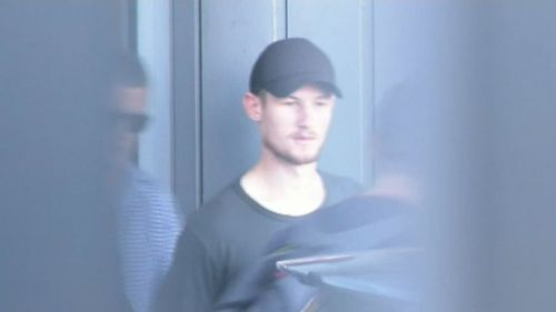 Cameron Bancroft landed in Perth this afternoon. (9NEWS)
