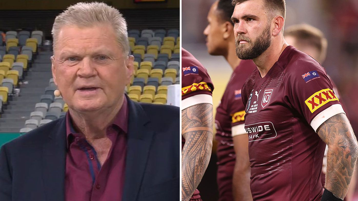 Paul Vautin struggles to find a positive in Queensland's horror loss in the opening State of Origin match.