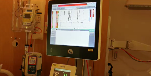 The INFANT technology monitors unborn babies health and indicates if there is a problem.
