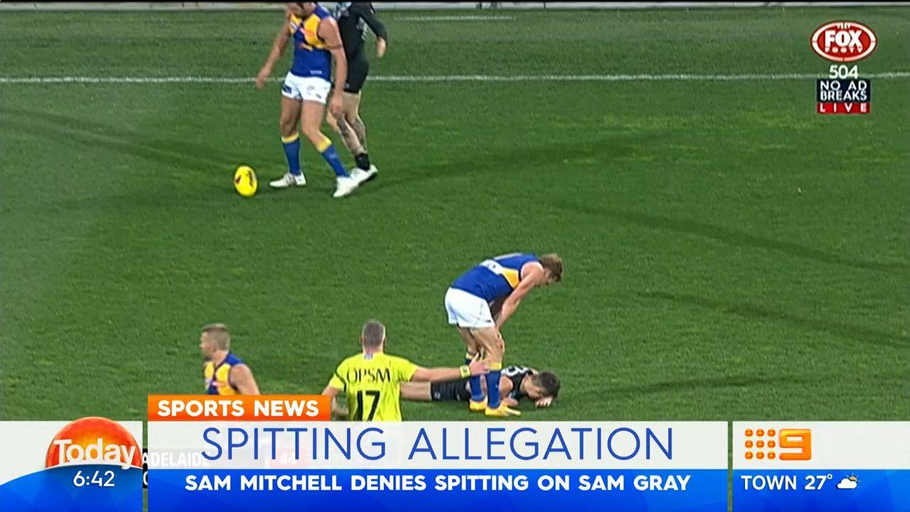 Mitchell denies spitting allegation
