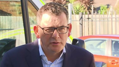 """The premier called the incident """"completely unacceptable"""". (9NEWS)"""