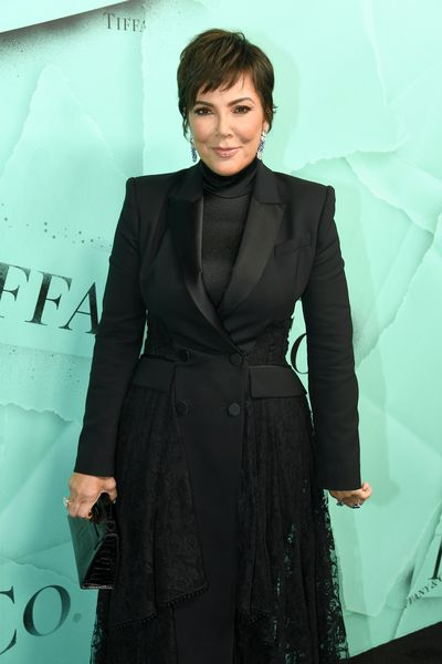 Kris Jenner attends the Tiffany Blue Book Collection launch at Studio 525 on October 9, 2018 in New York City.