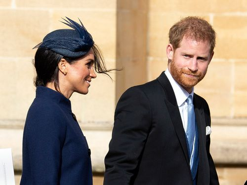 The royal couple attend the wedding of Princess Eugenie.