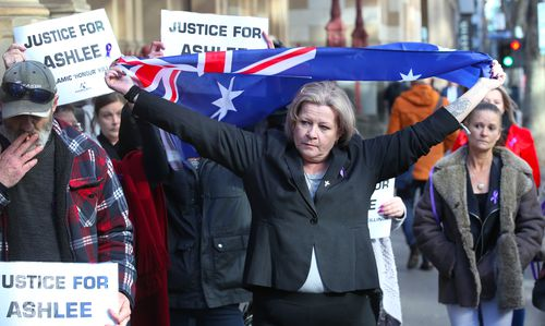 """""""He's not a man. That's not a man. That's an animal, a deadset animal,"""" Ms Brown has previously said. Picture: AAP"""