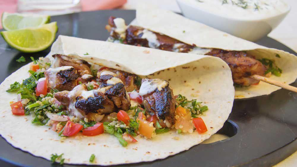 Souvlaki kebab