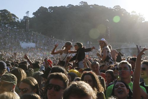 The NSW Coroner in charge of the music festival drug deaths inquest will oversee a pill-testing trial at Splendour in the Grass today.