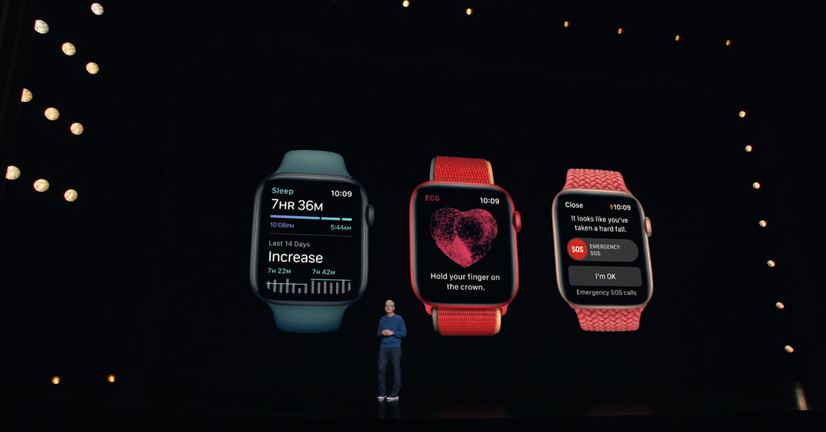 Apple Watch Series 7: Bigger screen for larger buttons and full keyboard in major update – 9News