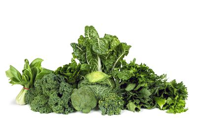 ENCOURAGE: Fresh vegetables — especially leafy greens