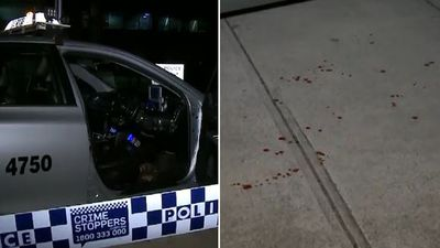 Cabbie stabbed in the head drives himself to police station