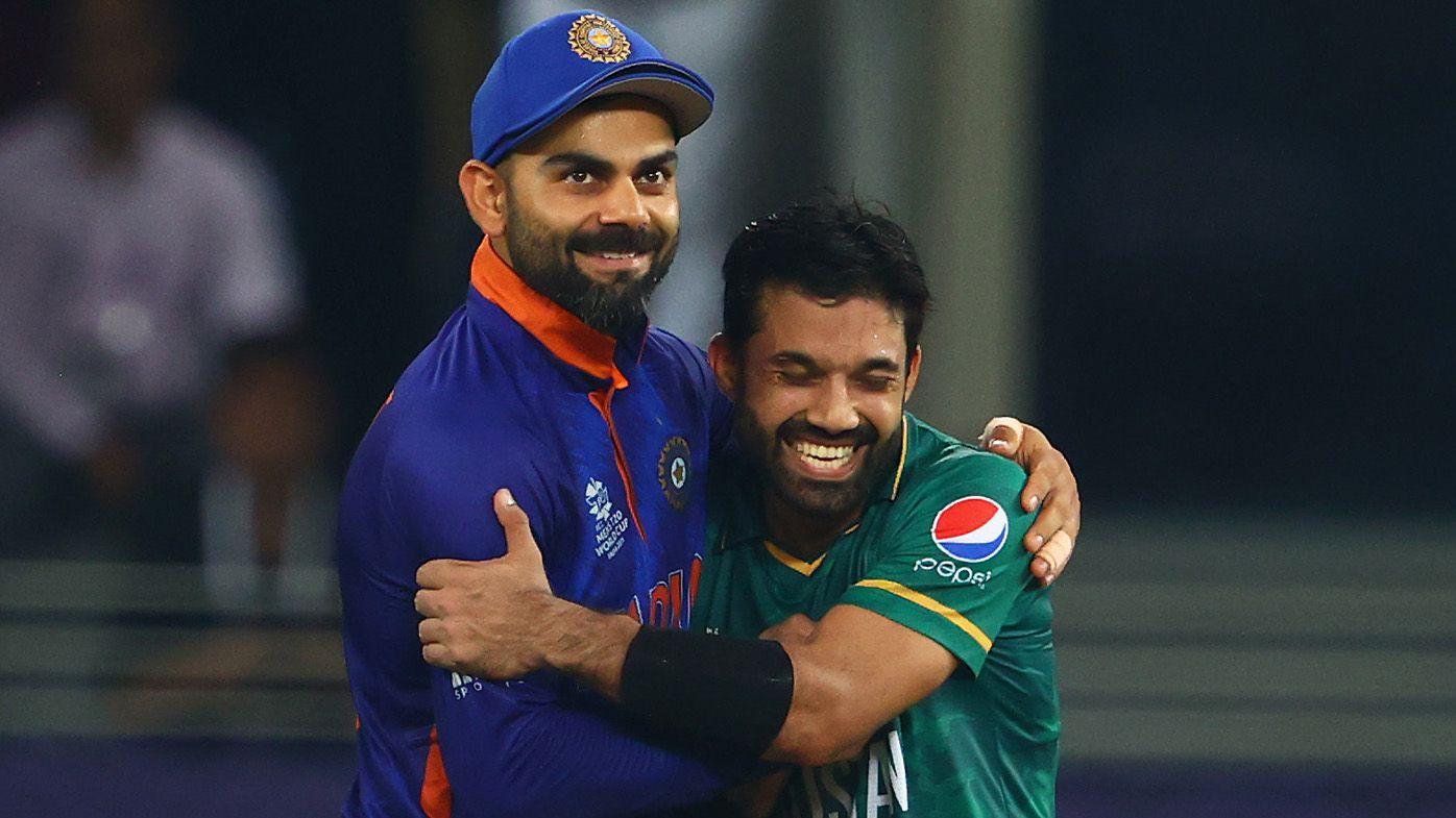 Kohli challenges 'hate' in heartwarming moment