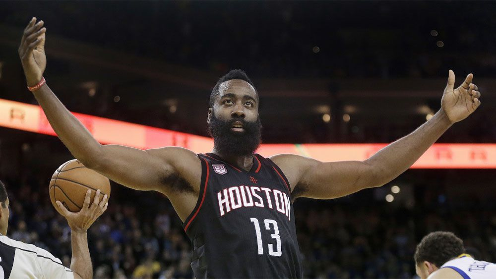 Harden's NBA-record 60-point triple-double