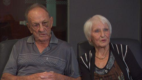 Great-grandparents Brian and Otwina.