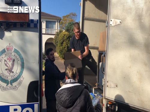 Officers from Strike Force Dungv executed a search at two Carlingford properties.