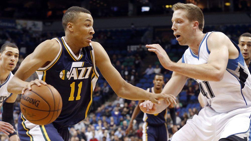 Utah Jazz's Dante Exum (AAP)