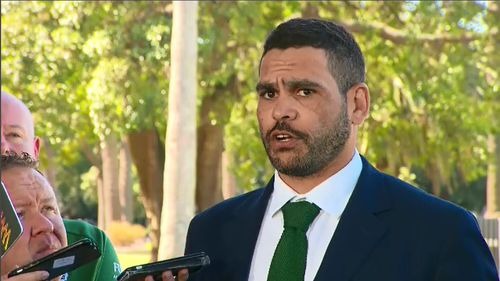 NRL star Greg Inglis has apologised for being charged with mid-range drink driving over the long weekend.