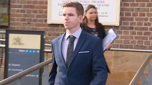 Luke Munday has pleaded guilty to the assault of his partner.
