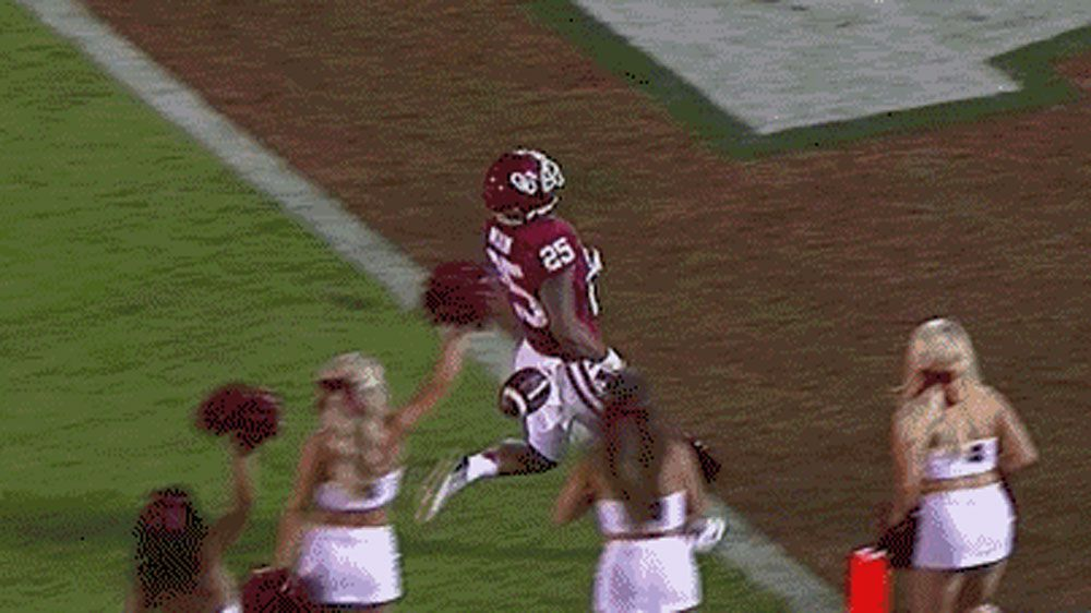 Touchdown ruled despite dropped ball