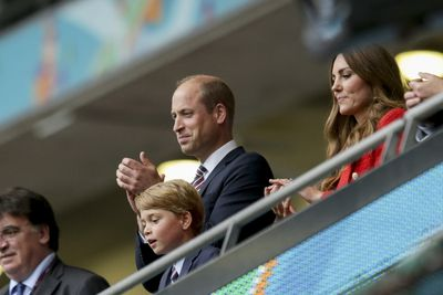 Attends the England vs Germany game at the Euros, June 2021