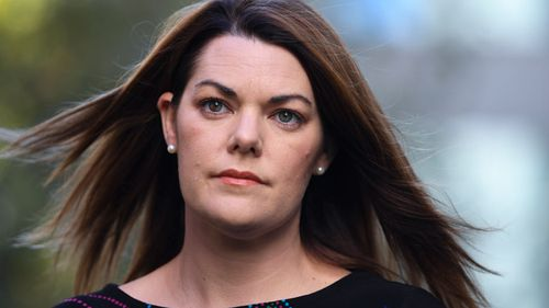 There are reports the officer made the call to Senator Sarah Hanson-Young.