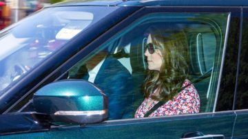 Kate Middleton spotted for first time since birth of baby Louis