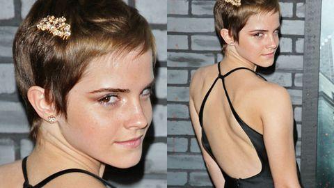 Did Emma Watson's short hair make her look like a lesbian?