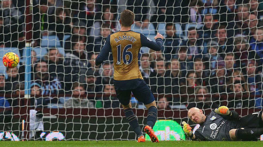 Villa win seals perfect week for Wenger