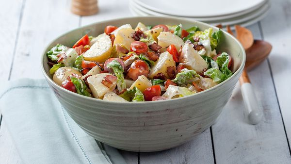 BLT potato salad by Praise