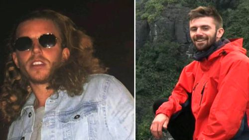 Alistair Raddon's (left image) foot was bitten off. Danny Maggs (right) was also attacked. (Supplied)