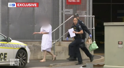 The 22-year-old allegedly stabbed the male before fleeing on foot.